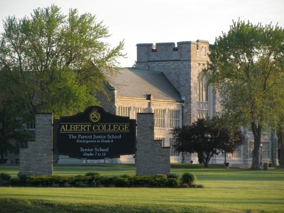 Albert  College (Academic)